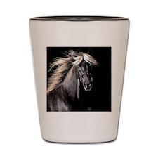 Funny Horseback riding Shot Glass