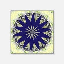"FRACTALSCOPE 02 Square Sticker 3"" x 3"""