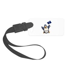 Wisconsin Penguin Luggage Tag