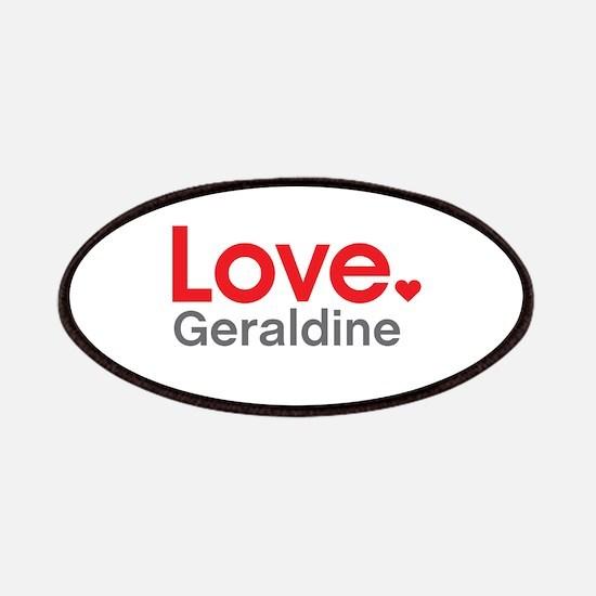 Love Geraldine Patches