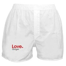 Love Ginger Boxer Shorts