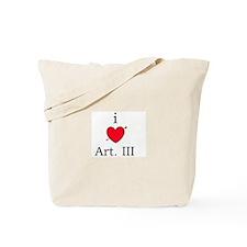 I [heart] Art. III Tote Bag