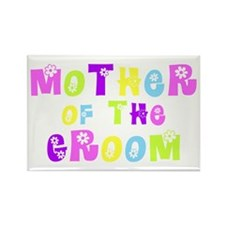 Mother Of The Groom Rectangle Magnet