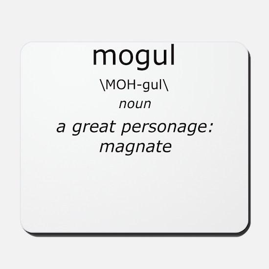 Mogul Definition of Me Mousepad