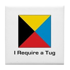 require tug.png Tile Coaster