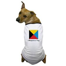 require tug.png Dog T-Shirt