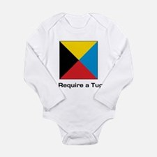 require tug.png Long Sleeve Infant Bodysuit