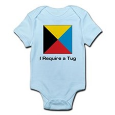 require tug.png Infant Bodysuit
