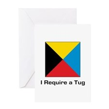 require tug.png Greeting Card