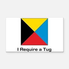 require tug.png Rectangle Car Magnet
