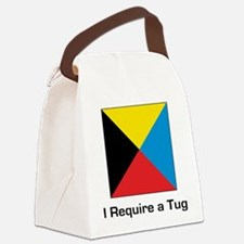 require tug.png Canvas Lunch Bag