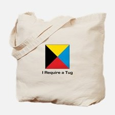 require tug.png Tote Bag