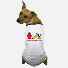 social media for dogs.png Dog T-Shirt