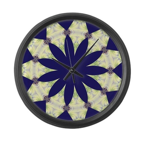 FRACTALSCOPE 05 Large Wall Clock