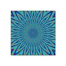 "FRACTALSCOPE 07 Square Sticker 3"" x 3"""
