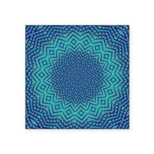 "FRACTALSCOPE 09 Square Sticker 3"" x 3"""