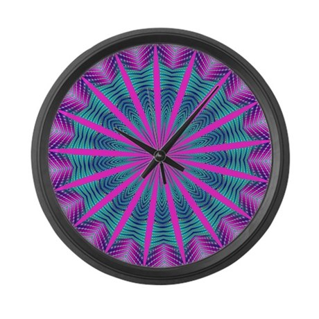 FRACTALSCOPE 10 Large Wall Clock