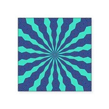 "FRACTALSCOPE 11 Square Sticker 3"" x 3"""