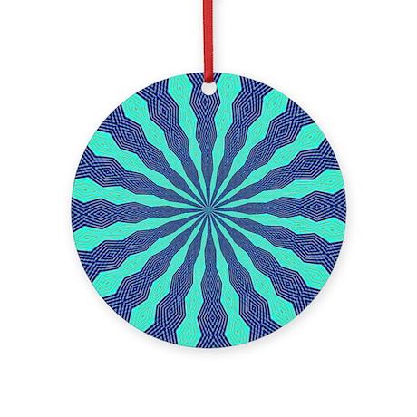 FRACTALSCOPE 11 Ornament (Round)