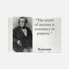 The Secret Of Success - Disraeli Magnets