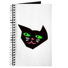Black Cat Head Journal