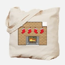 Chimney Stockings Tote Bag