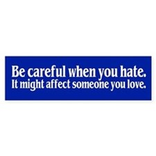 SOMEONE YOU LOVE Bumper Car Sticker