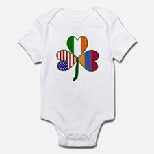 Shamrock of Armenia Infant Bodysuit