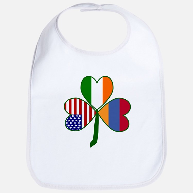 Shamrock of Armenia Bib