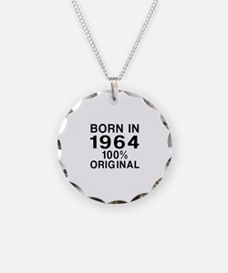 Born In 1964 Necklace