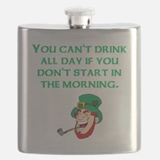 Start In The Morning Flask
