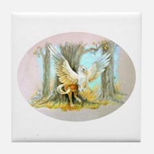 Ceramic Tile Art or Coaster - Hippogriff