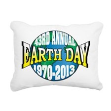 Earth Day 2013 Rectangular Canvas Pillow