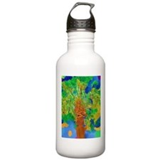 Watercolor Palm Water Bottle