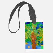 Watercolor Palm Luggage Tag