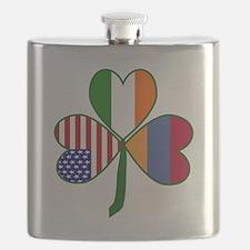 Shamrock of Armenia Flask