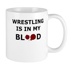 Wrestling is in my Blood Mug