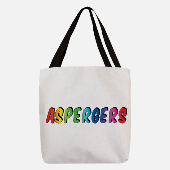 Aspergers Polyester Tote Bag