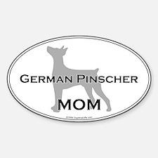 German Pinscher MOM Oval Decal