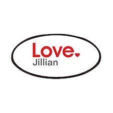 Love Jillian Patches