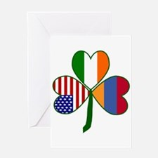 Shamrock of Armenia Greeting Card