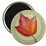 "Red Maple Leaf 2.25"" Magnet (10 pack)"