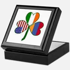 Shamrock of Armenia Keepsake Box