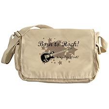 Born To Rock Messenger Bag