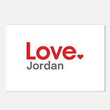 Love Jordan Postcards (Package of 8)