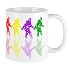Artsy Colorful Crypto Bigfoot Mug