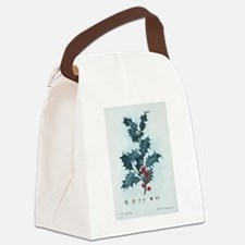 Mistletoe Canvas Lunch Bag