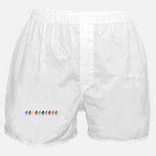 Ten Color Squatches Boxer Shorts