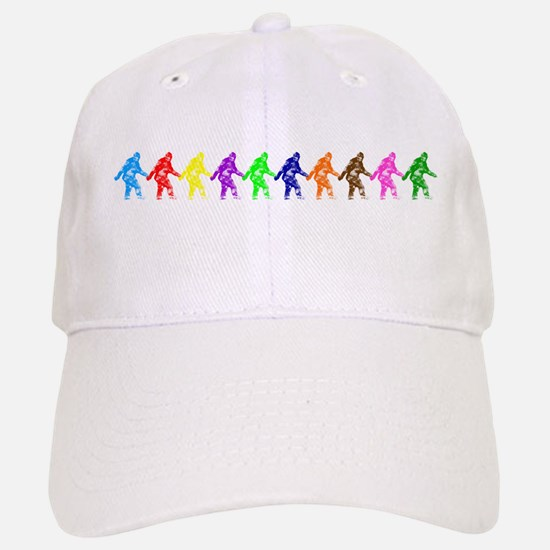 Ten Color Squatches Baseball Baseball Cap