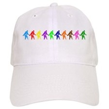 Ten Color Squatches Baseball Cap